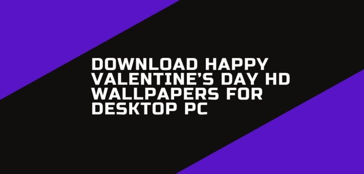 Download Happy Valentine's Day HD Wallpapers for Desktop PC