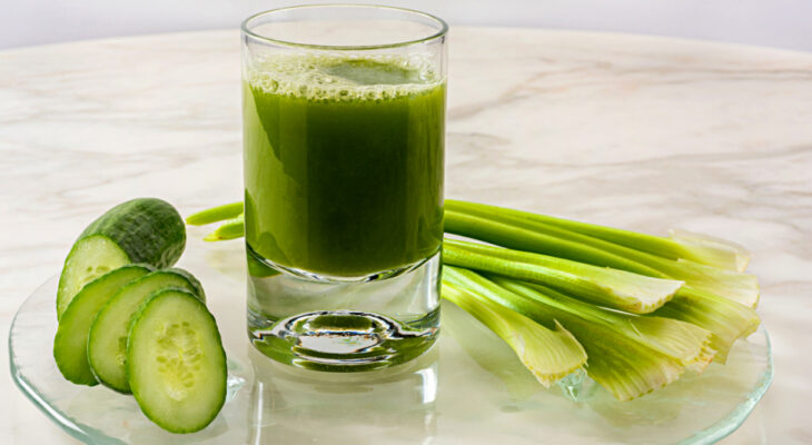Celery juice for Thyroid Healing