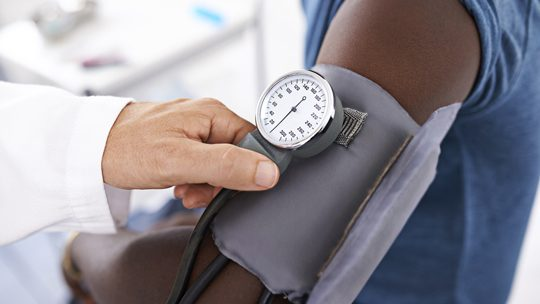 How much does Weight Loss effect Blood Pressure