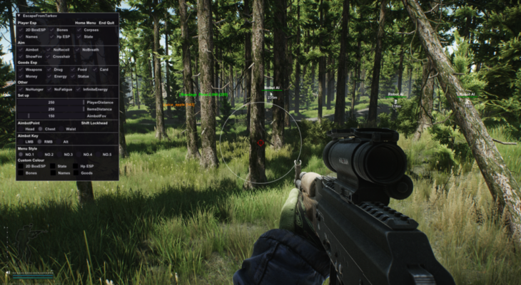 Benefits Of Using Cheats In Escape From Tarkov Game