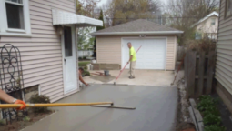 How to pour a concrete driveway Home Inside