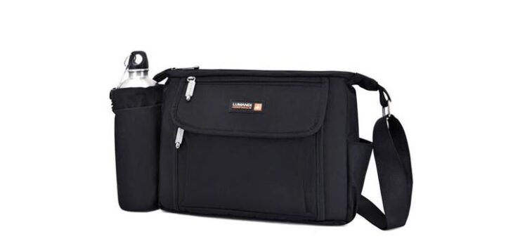 The CrossBody Travel Bag With Water Bottle Holder - Great Accessories