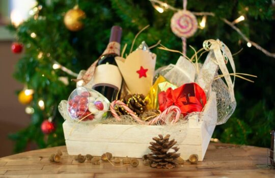 The best food hampers for the eve of Christmas
