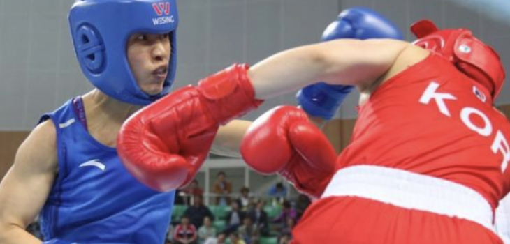 Chinese boxing team wins 7 Olympic tickets, Ren Cancan wins gold and enters Rio