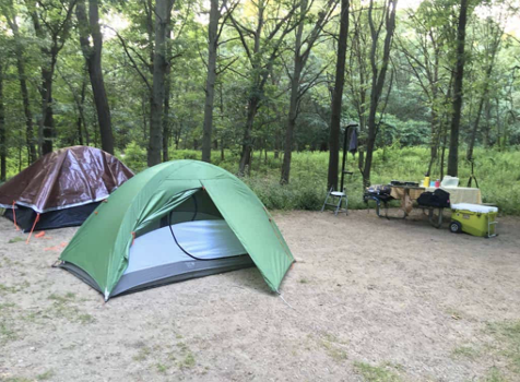 BEST CAMPING NEAR CHICAGO