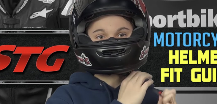 Motorcycle helmet guide: Are you wearing the right size?