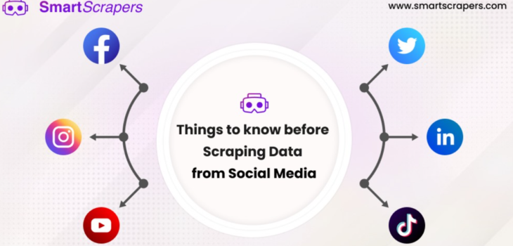 scraping data from Social Media