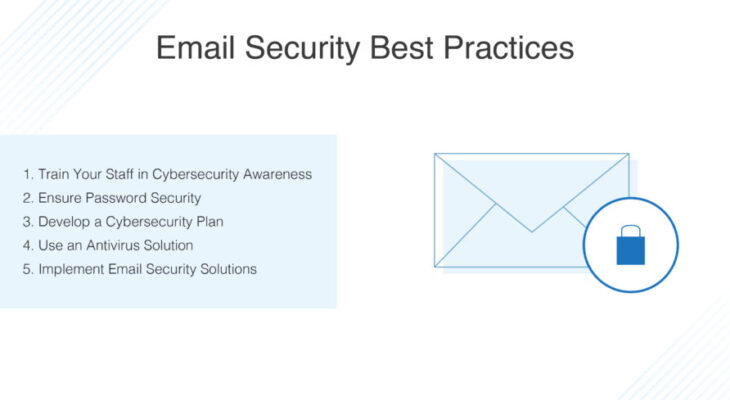6 email security tips for your business